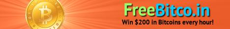 Freebitco.in Se ganan pequeñas fracciones de Bitcoin por hacer un reclamo cada 60 minutos. Se trata de la Faucet mas conocida y veterana y tiene mas apartados de Loterías y Apuestas